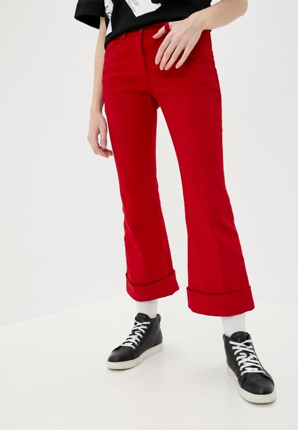 женские повседневные брюки n21, красные