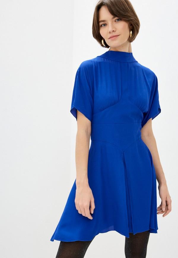 женское повседневные платье n21, синее