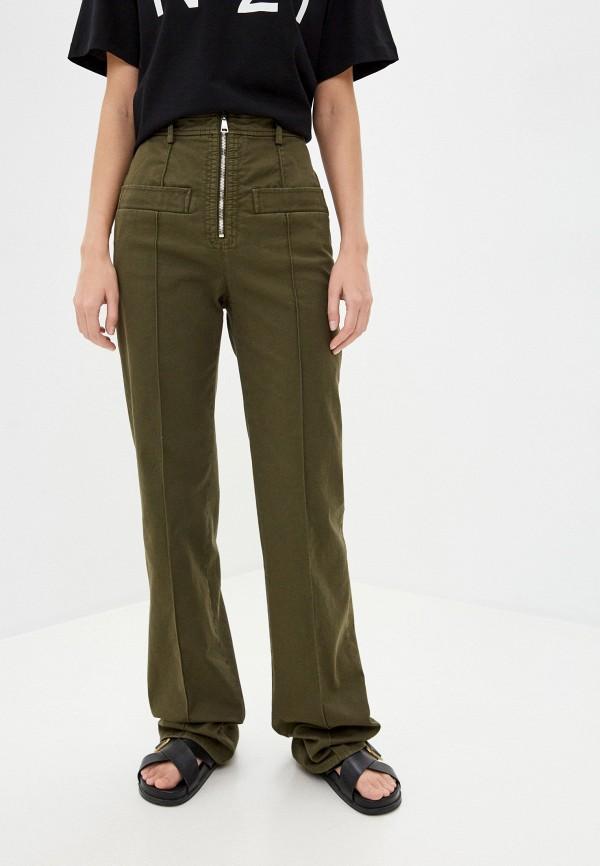 женские повседневные брюки n21, хаки
