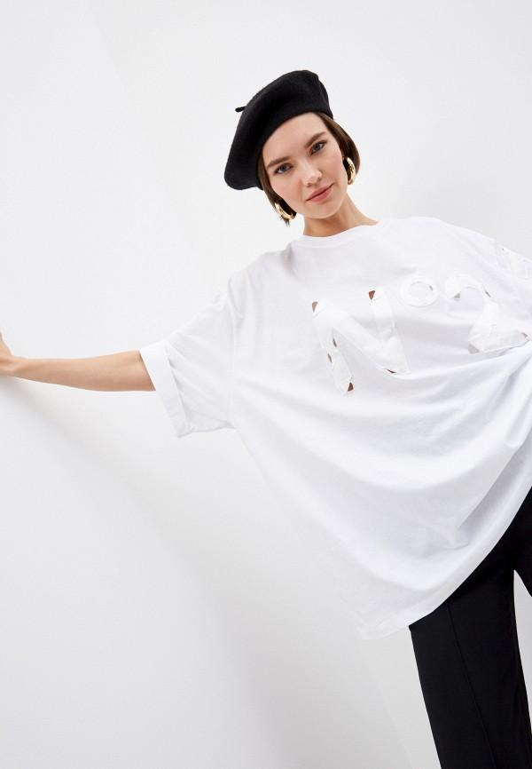 женская футболка n21, белая