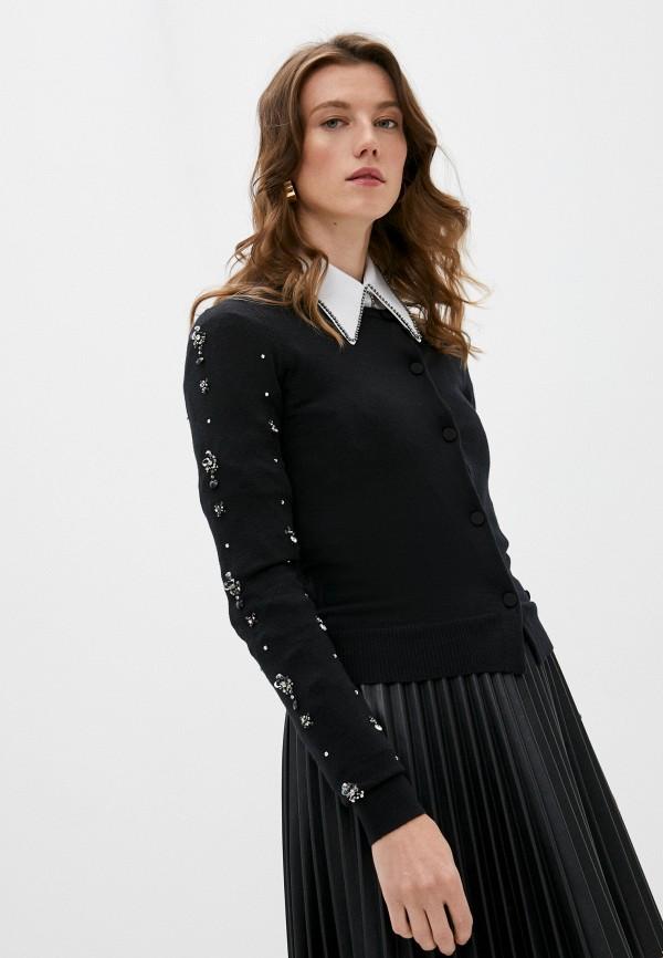 женский кардиган n21, черный