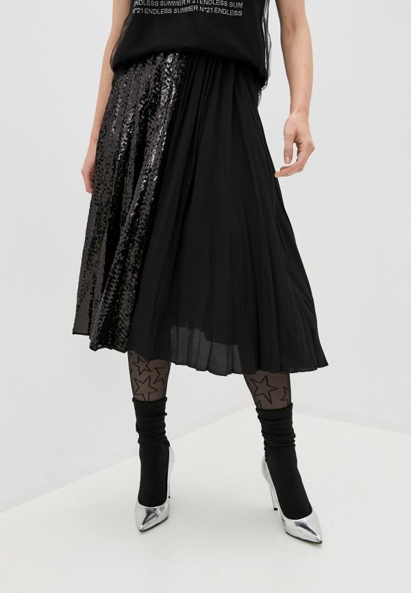 женская юбка n21, черная