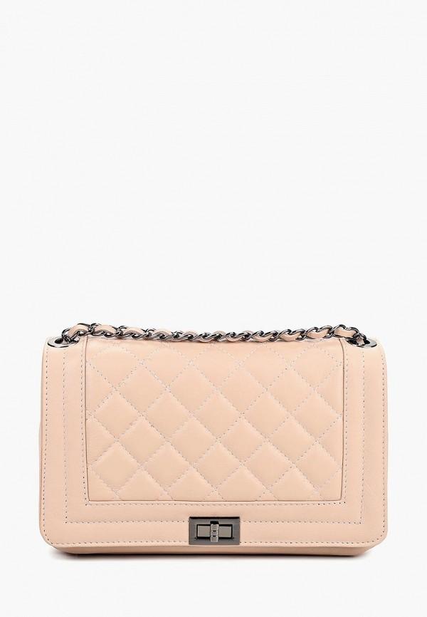 женская сумка nano de la rosa, бежевая