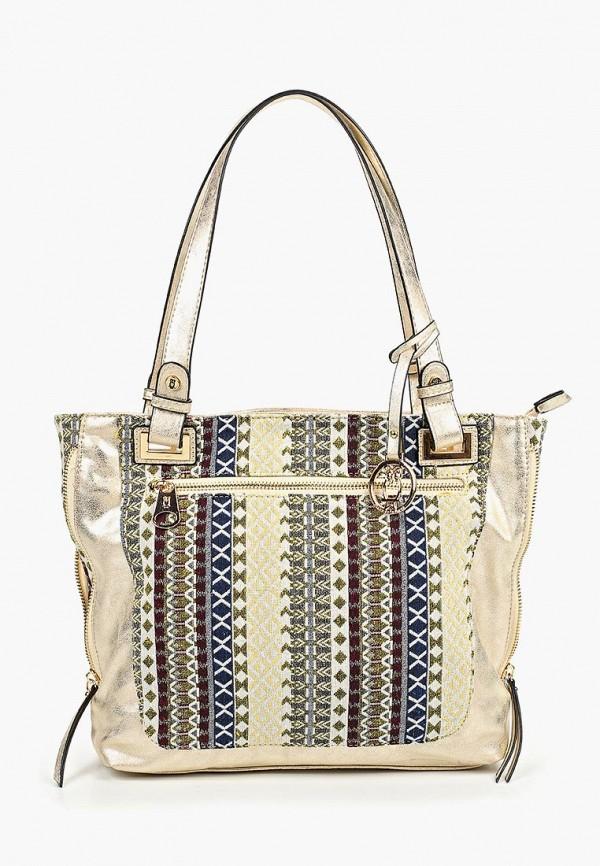 женская сумка nano de la rosa, разноцветная