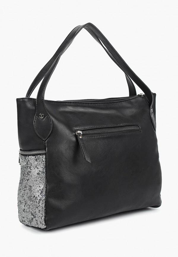 Фото 2 - Женские сумки и аксессуары Nano de la Rosa черного цвета