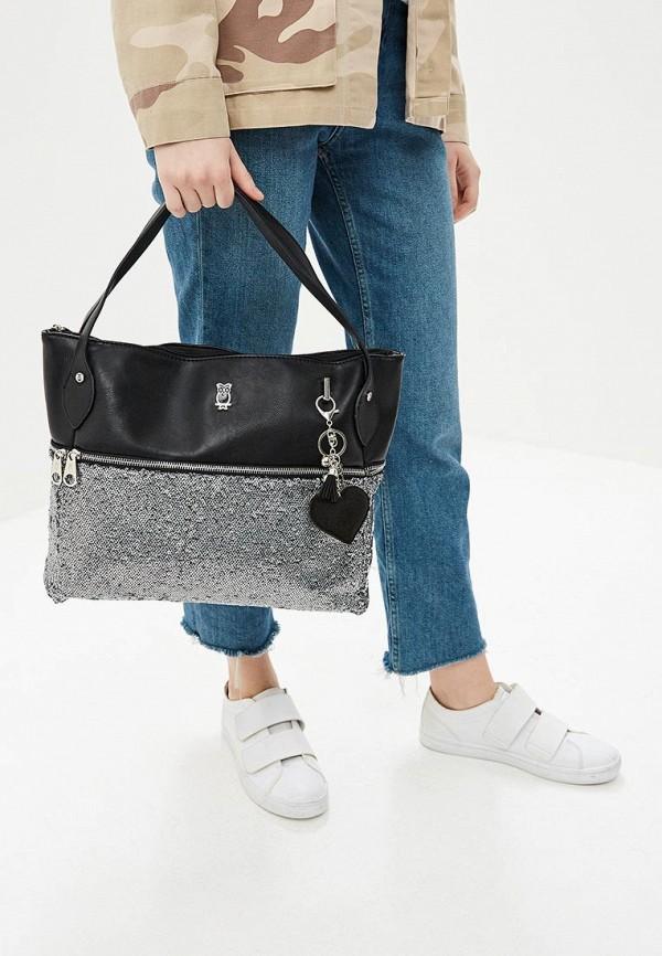 Фото 4 - Женские сумки и аксессуары Nano de la Rosa черного цвета