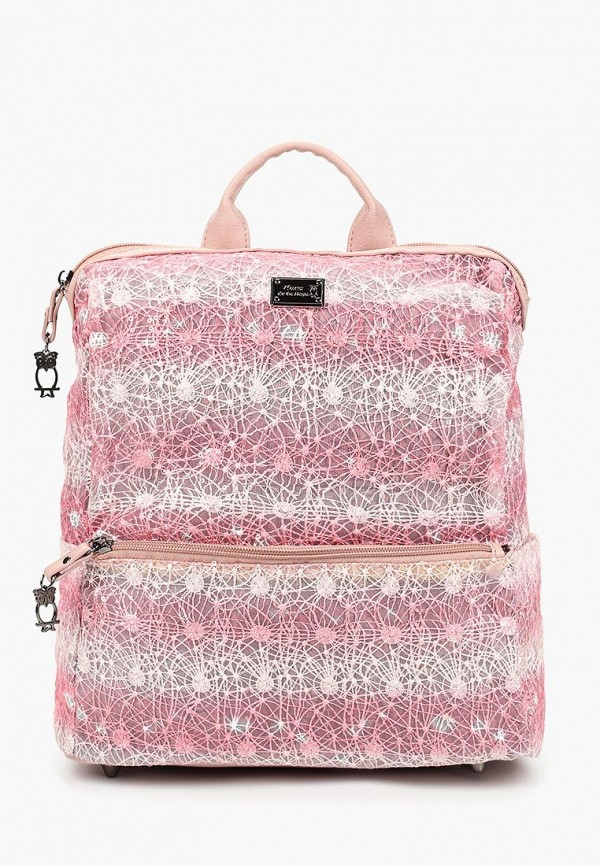 женский рюкзак nano de la rosa, розовый