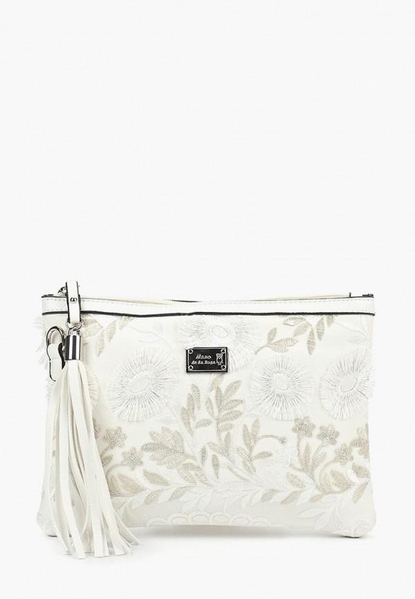 женская сумка nano de la rosa, белая