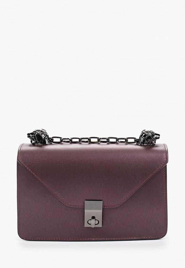 женская сумка nano de la rosa, фиолетовая