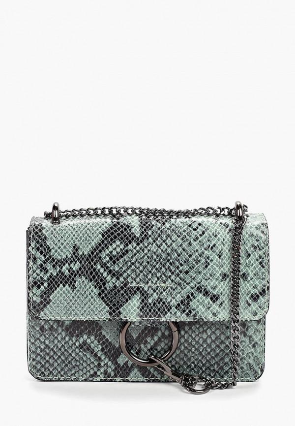 женская сумка nano de la rosa, зеленая