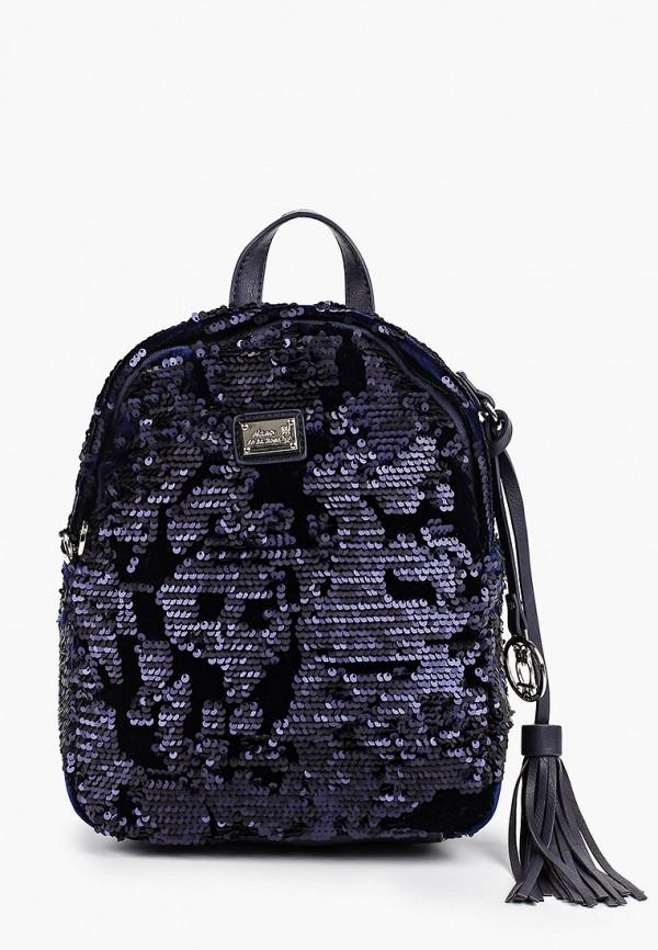 женский рюкзак nano de la rosa, синий