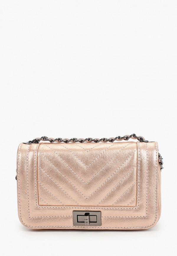 женская сумка nano de la rosa, розовая