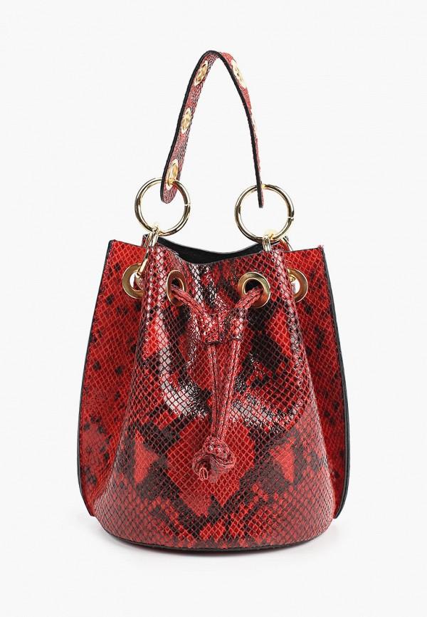 женская сумка nano de la rosa, красная