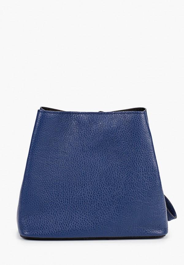 женская сумка nano de la rosa, синяя