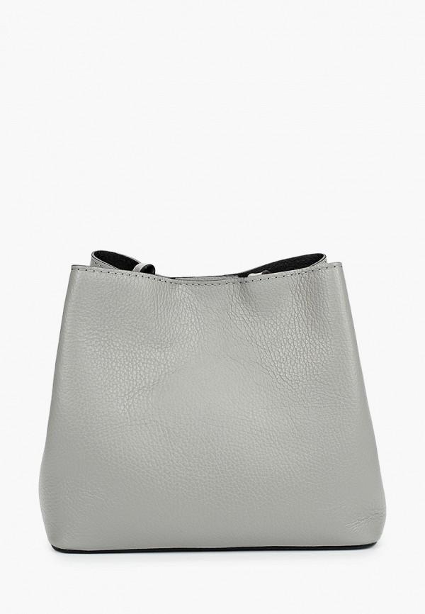 женская сумка nano de la rosa, серая