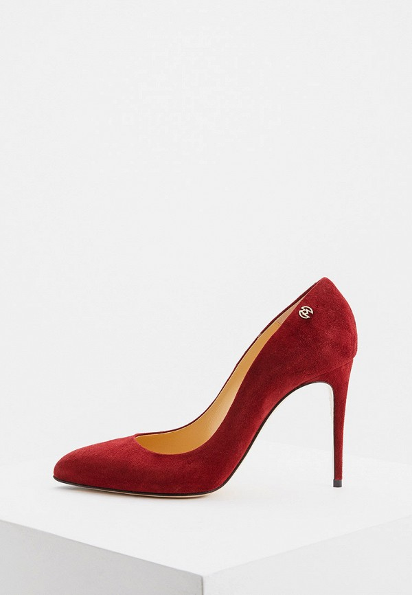 женские туфли nando muzi, бордовые