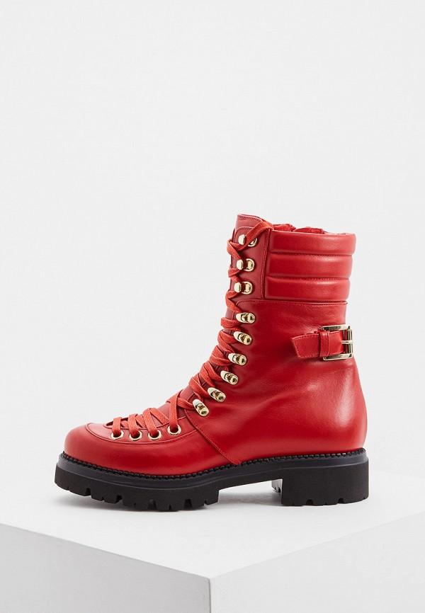 женские ботинки nando muzi, красные