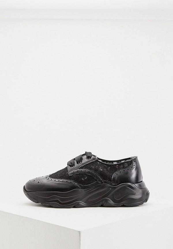 женские низкие ботинки nando muzi, черные