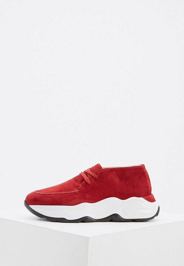 женские низкие кроссовки nando muzi, красные