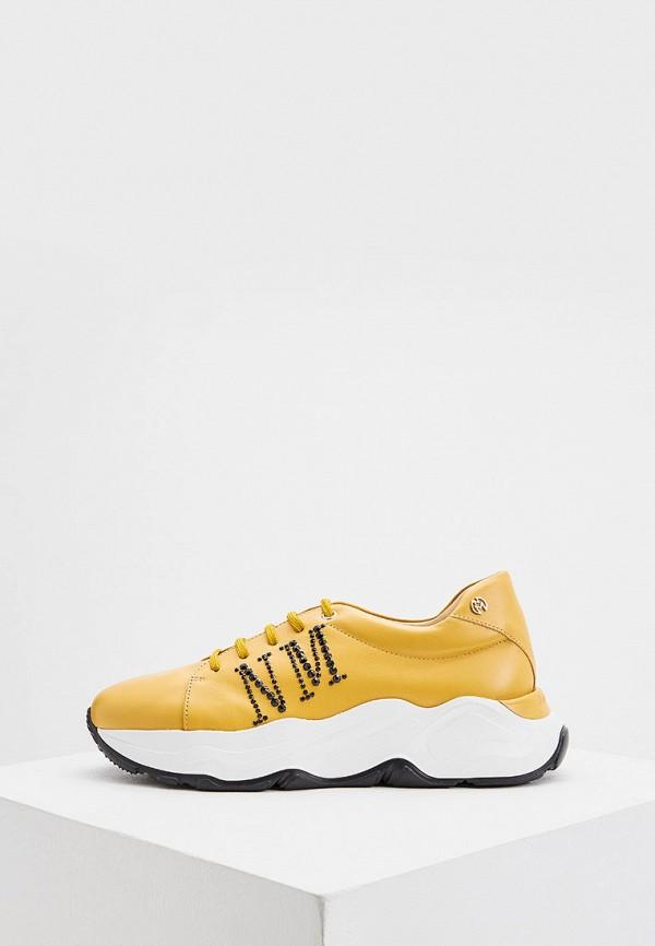 женские низкие кроссовки nando muzi, желтые