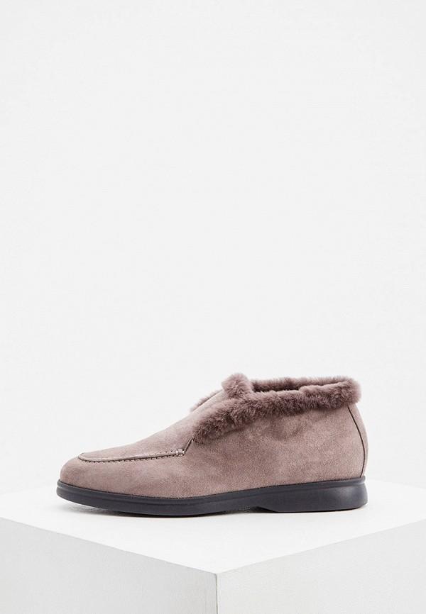 женские ботинки nando muzi, серые