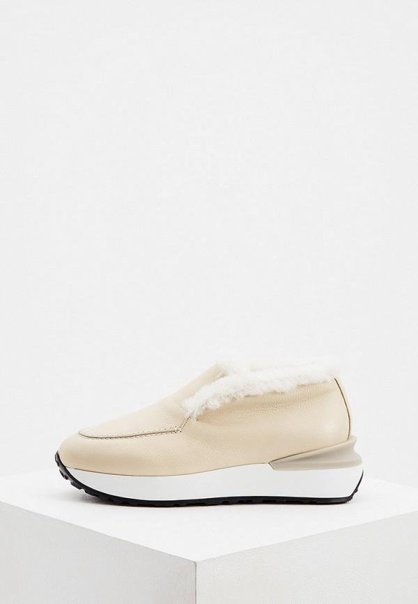 женские ботинки nando muzi, бежевые