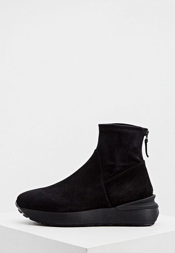 женские ботинки nando muzi, черные