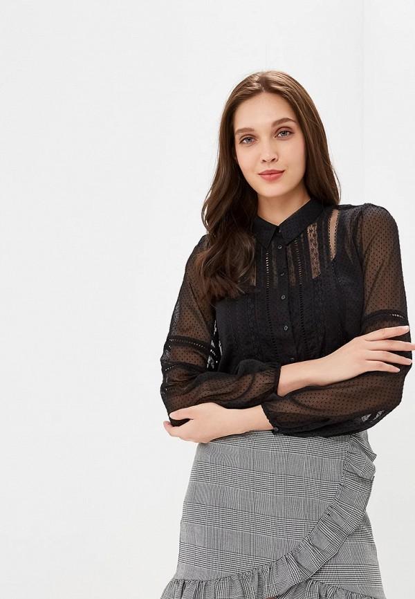 Купить Блуза Naf Naf, NA018EWBTXT3, черный, Осень-зима 2018/2019