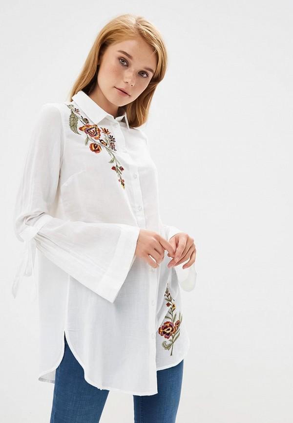 Купить Блуза Naf Naf, NA018EWBTXT5, белый, Осень-зима 2018/2019