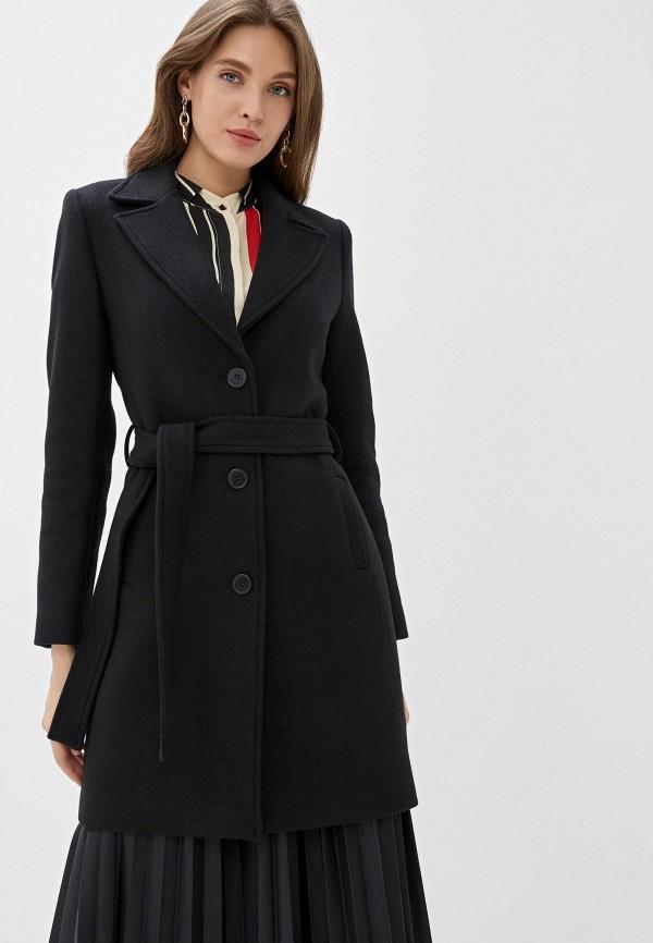женское пальто naf naf, серебряное
