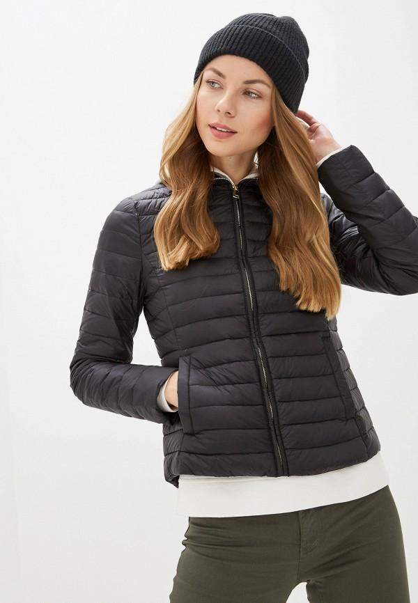 женская куртка naf naf, черная