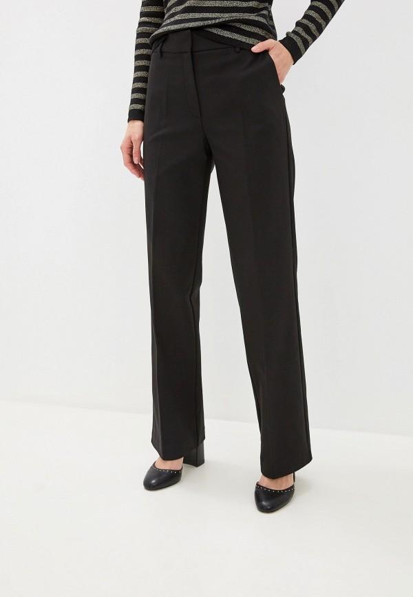 женские классические брюки naf naf, черные