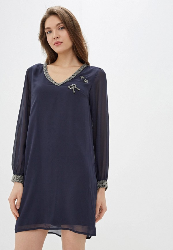 Платье Naf Naf Naf Naf NA018EWEMFU8 все цены