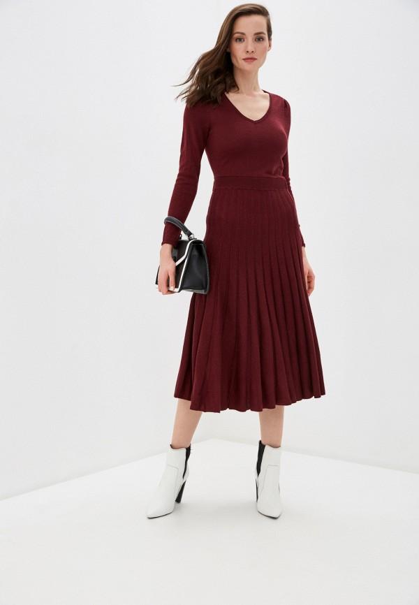 женское повседневные платье naf naf, серое