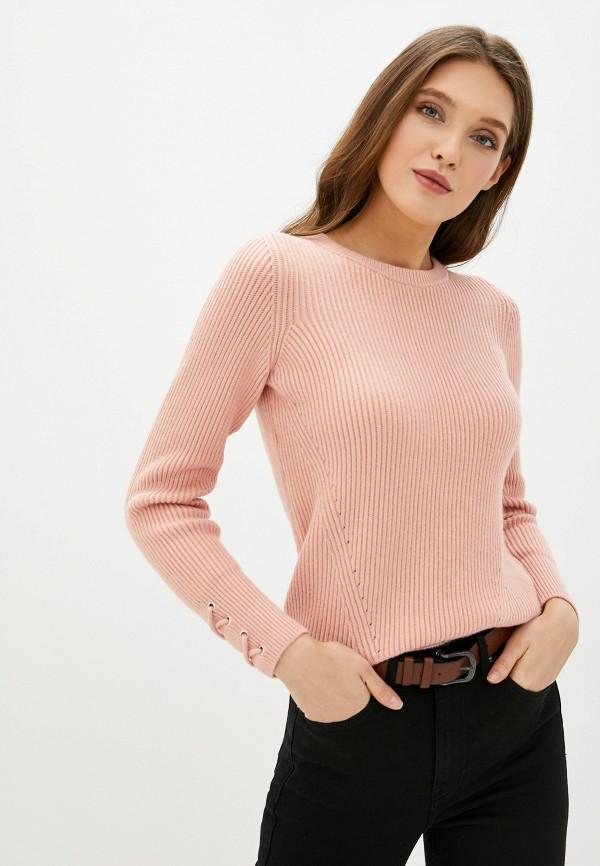 женский джемпер naf naf, розовый
