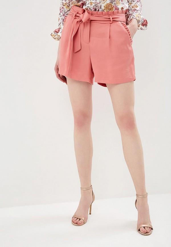 женские повседневные шорты naf naf, розовые
