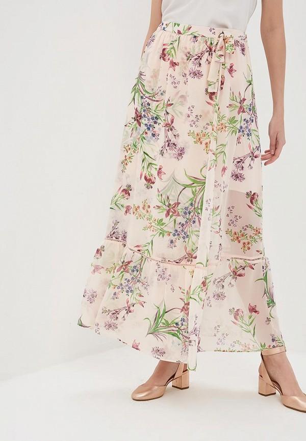 женская юбка naf naf, розовая