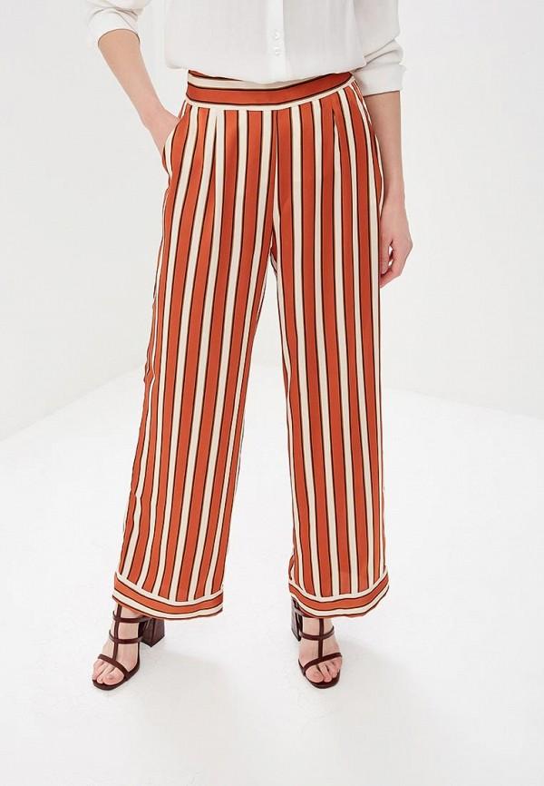 женские повседневные брюки naf naf, оранжевые