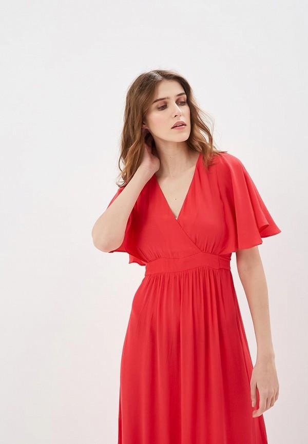 Фото 2 - женское платье Naf Naf розового цвета