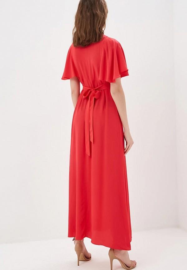 Фото 3 - женское платье Naf Naf розового цвета