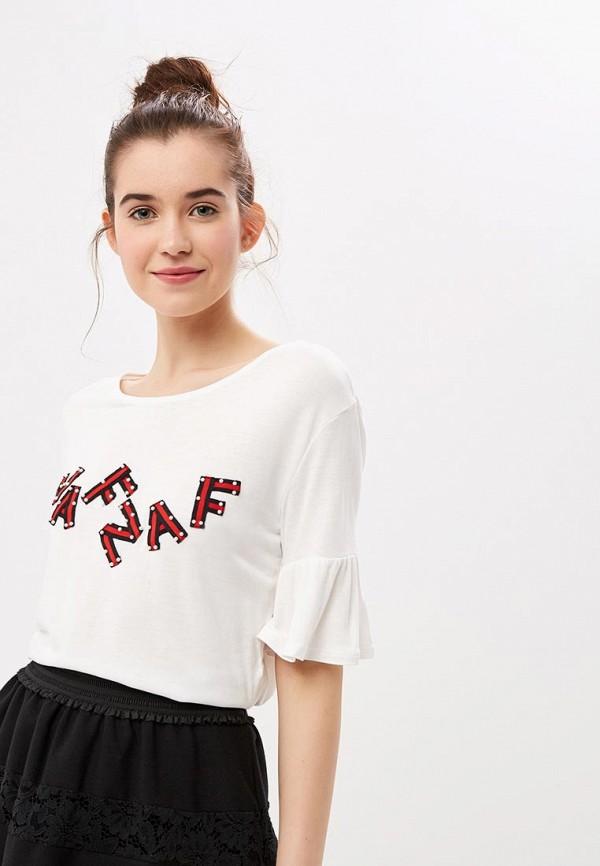 Футболка Naf Naf Naf Naf NA018EWENWU1 футболка naf naf naf naf na018ewbtzq4