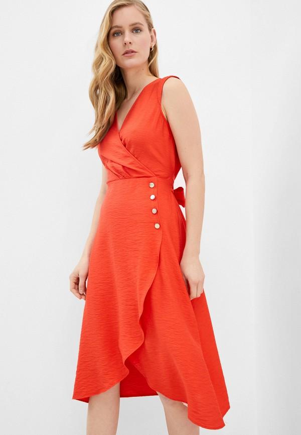 женское повседневные платье naf naf, разноцветное