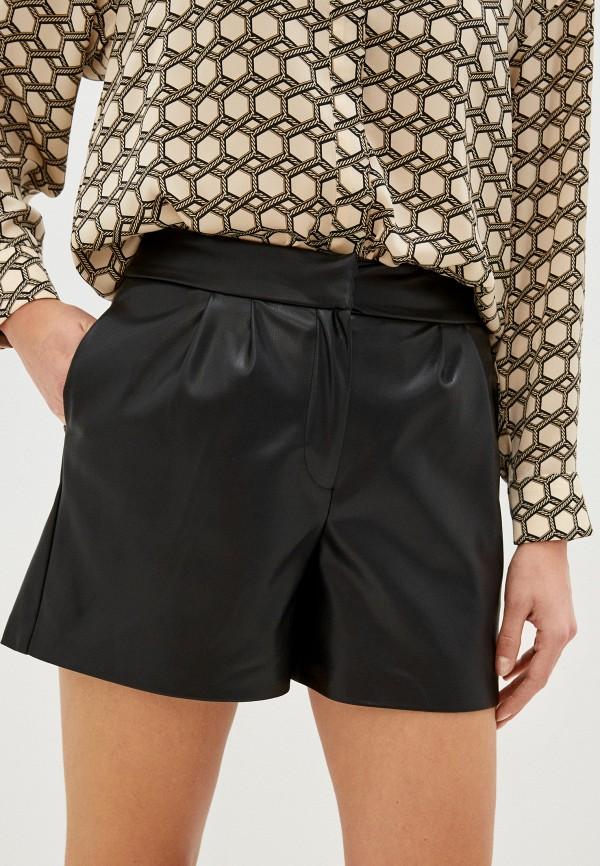 женские повседневные шорты naf naf, черные