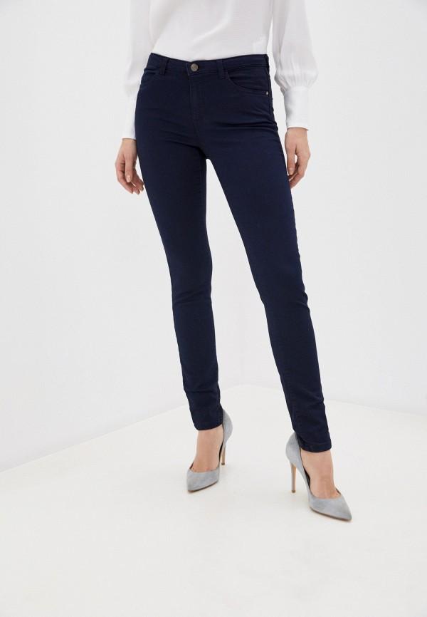 женские повседневные брюки naf naf, синие