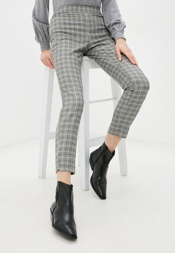 женские повседневные брюки naf naf, серые