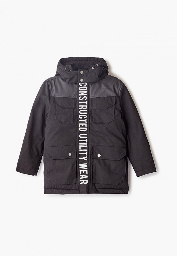 куртка name it для мальчика, черная