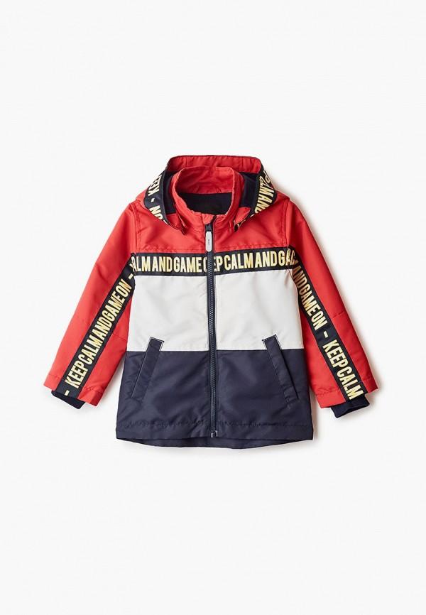 куртка name it для мальчика, разноцветная