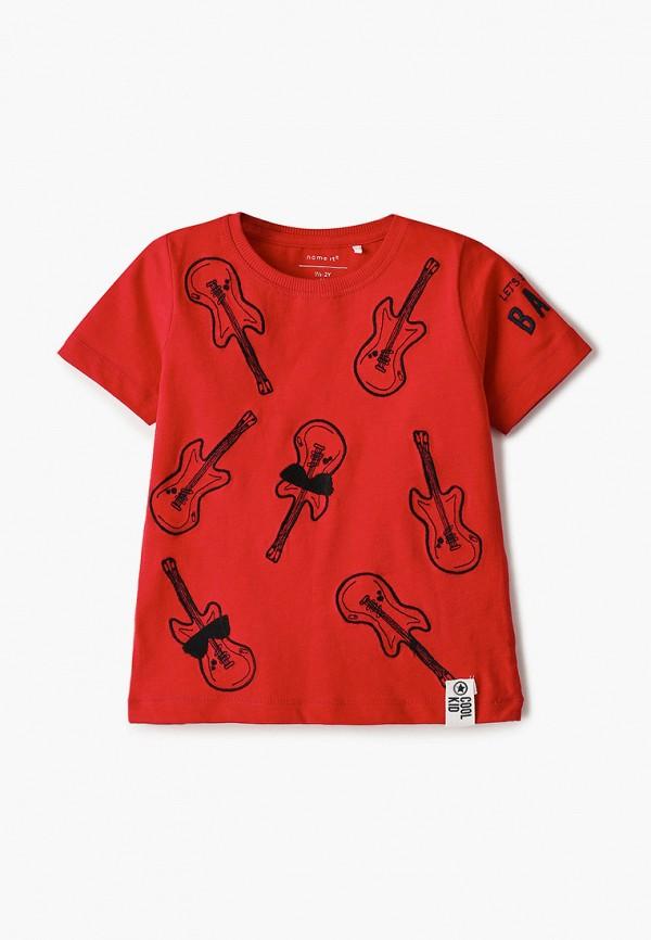 футболка с коротким рукавом name it для мальчика, красная