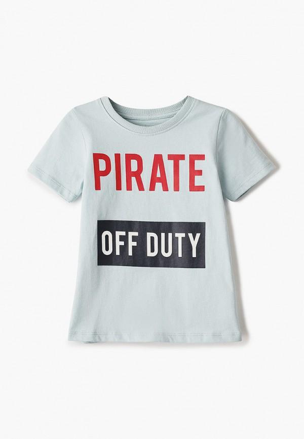 футболка с коротким рукавом name it для мальчика, голубая