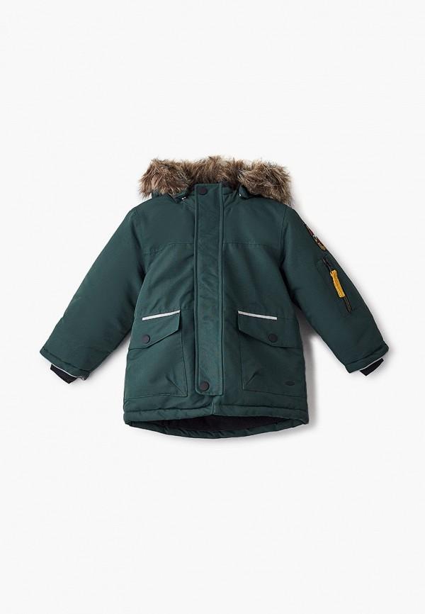 куртка name it для мальчика, зеленая